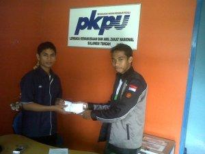 Penyerahan Dana Sumbangan ke PKPU Sulteng