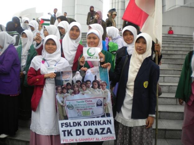 FSLDKN Dirikan TK di GAZA
