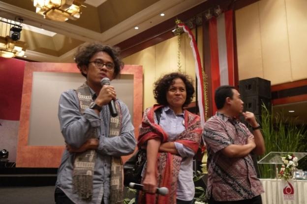 Sbeleum Nonton bareng Film garapan terbaru dari Riri Reza, dan Mira Lesmana