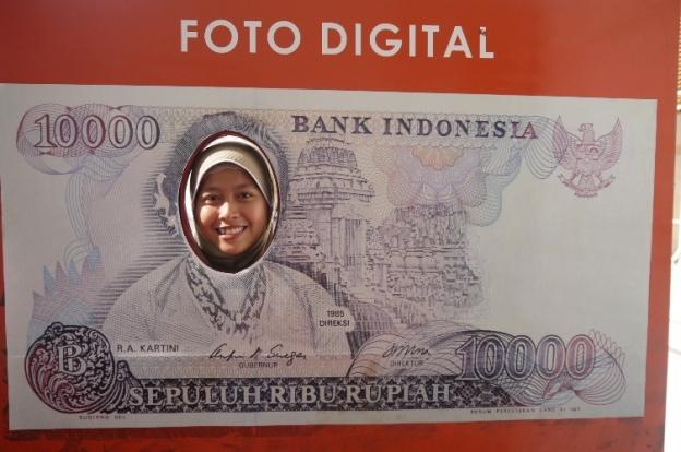 di Museum Bank Indonesia, Jakarta