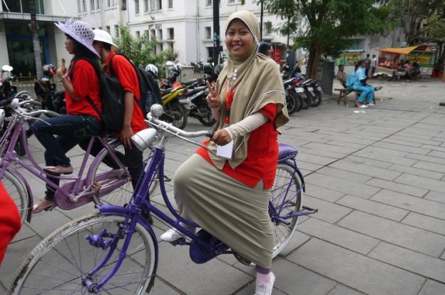 Jalan-jalan sore Kelilingi Kota Tua, Jakarta