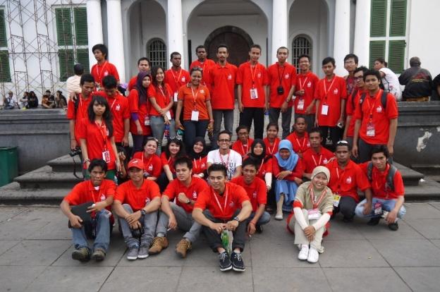 Narsis abis jalan-jalan n keliling Kota Tua yang sangat bersejarah di Jakarta