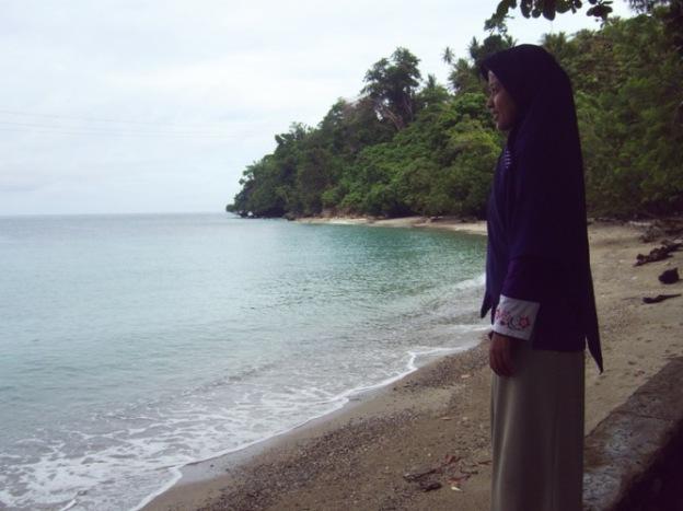 @Pantai di Kec.Sindue - Sulawesi Tengah