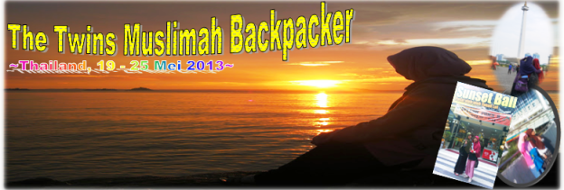 muslimah backpacker