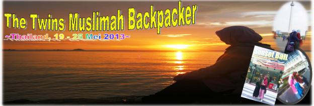 muslimah backpacker