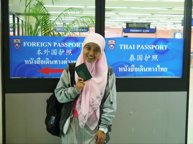 My old sister; Kak Yuli :-)