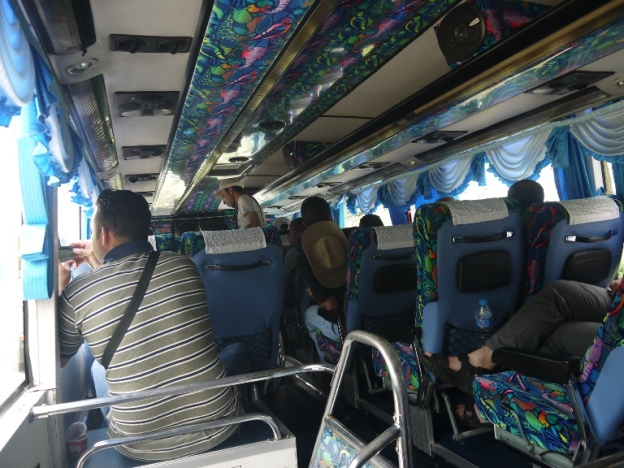 Bersama saudara dari Palestine di Bus