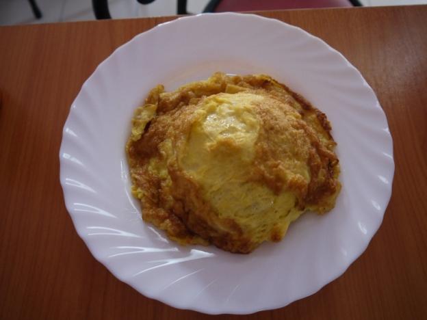 Ompleng telur buat sarapan