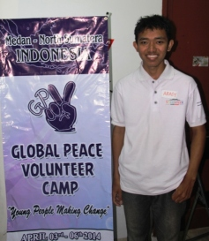 GLOBAL PEACE di Medan